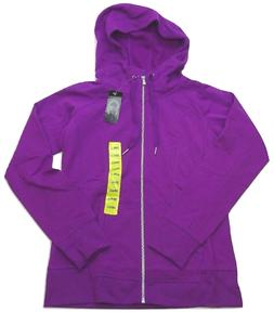 Champion Women's Hoodie Full Zip Sweatshirt Jacket Purple Ch