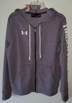 Under Armour Women's MEDIUM 'Favorite' Full Zip Hoodie GRAY