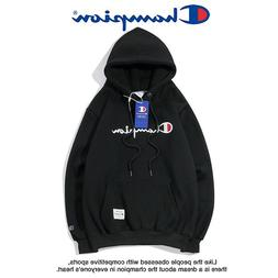 New Women Men Classic Champion Hoodies Hooded Embroidered Sw