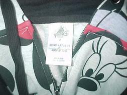 Women's Minnie Mouse Hoodie--Size Large-Hood w/Ears-From Dis