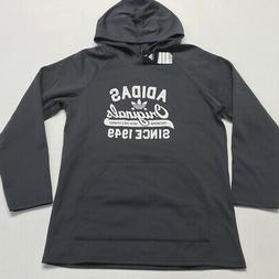 Adidas Women's Originals 1949 Graphic Hoodie Grey/White M RE