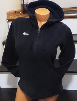 WOMEN'S SIZE LARGE THE NORTH FACE BLACK FLEECE JACKET FULL Z