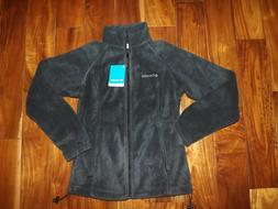 Columbia Womens Charcoal Gray Benton Springs Fleece Full Zip