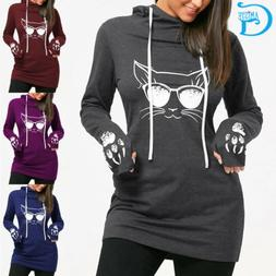 Womens Hoodies Cotton Casual Style Spring Sweatshirts Cartoo