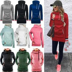 Womens Long Sleeve Hoodies Sweatshirt Sweater Winter Hooded