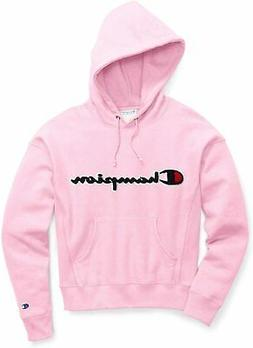 Champion Women's Vintage Hooded Applique Logo Fleece