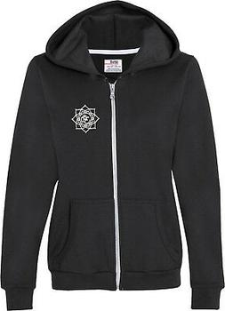 Yoga Clothing For You White Lotus OM Patch Pocket Print Full