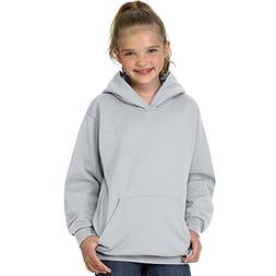 Hanes Youth ComfortBlend EcoSmart Pullover Hoodie_Ash_XS