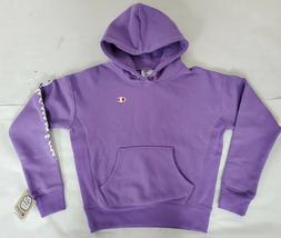 Champion Youth Small Lavender Purple Lavish Reverse Weave Ho
