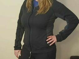 New Balance Zip Up Hoodie Women's Athletic Breathable Size L